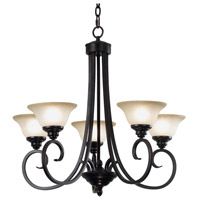 Kenroy Lighting Welles 5 Light Chandelier in Oil Rubbed Bronze   80475ORB