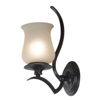 Kenroy Lighting Bienville 1 Light Sconce in Oil Rubbed Bronze   80581ORB