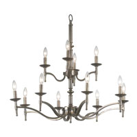 Kenroy Lighting Hastings Oxidized Brass Finish Chandeliers 90069OB