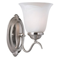 Medusa 1 Light 6 inch Brushed Steel Sconce Wall Light
