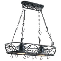 Twigs 2 Light 34 inch Bronze Pot Rack Ceiling Light