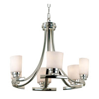 Kenroy Lighting Bow Polished Nickel Finish Chandeliers 90376PN photo thumbnail