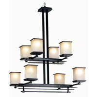 Kenroy Lighting Plateau 8 Light Chandelier in Oil Rubbed Bronze   90384ORB