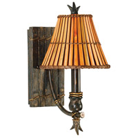 Kenroy Lighting Kwai 1 Light Wall Sconce in Bronze Heritage   90451BH