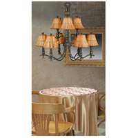 Kenroy Lighting Kwai 9 Light Chandelier in Bronze Heritage 90459BH alternative photo thumbnail