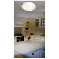Kenroy Lighting 90671WB Aero 3 Light 16 inch Weathered Brick Flush Mount Ceiling Light alternative photo thumbnail