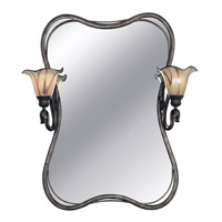 Kenroy Lighting Inverness 2 Light Vanity in Tuscan Silver   90890TS