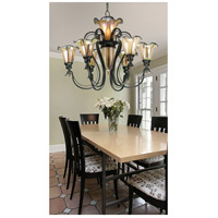 Kenroy Lighting 90896TS Inverness 9 Light 31 inch Tuscan Silver Chandelier Ceiling Light alternative photo thumbnail