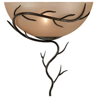 Kenroy Lighting Twigs 1 Light Wall Sconce in Bronze   90901BRZ