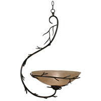 Kenroy Lighting Twigs 1 Light Pendant in Bronze   90902BRZ