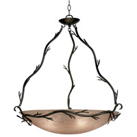 Twigs 5 Light 28 inch Bronze Pendant Ceiling Light