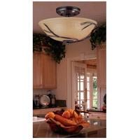Kenroy Lighting 90907BRZ Twigs 3 Light 16 inch Bronze Flush Mount Ceiling Light alternative photo thumbnail