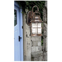 Kenroy Lighting 90951FL Beacon 1 Light 13 inch Flint Wall Lantern alternative photo thumbnail