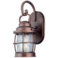 Beacon 1 Light 13 inch Gilded Copper Wall Lantern