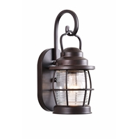 Kenroy Lighting 90951GC Beacon 1 Light 13 inch Gilded Copper Wall Lantern
