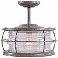 Kenroy Lighting 90954FL Beacon 1 Light 15 inch Semi Flush Mount Ceiling Light Convertible