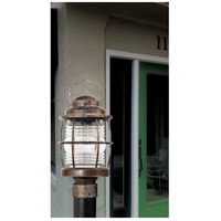 Kenroy Lighting 90956FL Beacon 1 Light 18 inch Flint Post Lantern alternative photo thumbnail