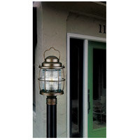 Kenroy Lighting 90956GC Beacon 1 Light 18 inch Gilded Copper Post Lantern alternative photo thumbnail