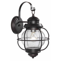 Kenroy Lighting Hatteras 1 Light Outdoor Wall Lantern in Gilded Copper   90962GC