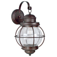 Hatteras 1 Light 17 inch Gilded Copper Wall Lantern