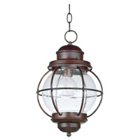 Kenroy Lighting 90965GC Hatteras 1 Light 10 inch Gilded Copper Hanging Lantern Ceiling Light