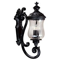 Kenroy Lighting Troubadour 3 Light Outdoor Wall Lantern in Ebony Pearl   91102EP photo thumbnail