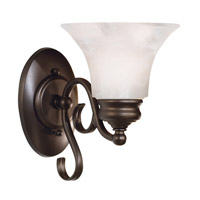 Kenroy Lighting Wynwood 1 Light Sconce in Burnished Bronze   91391BBZ