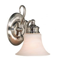 Kenroy Lighting 91391BS Wynwood 1 Light 7 inch Brushed Steel Sconce Wall Light photo thumbnail