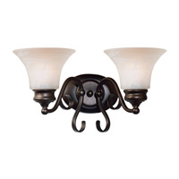 Kenroy Lighting Wynwood 2 Light Vanity in Burnished Bronze   91392BBZ