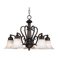 Kenroy Lighting Wynwood 5 Light Chandelier in Burnished Bronze   91395BBZ