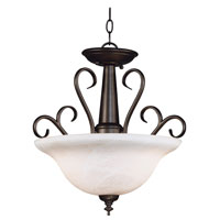 Kenroy Lighting Wynwood 2 Light Pendant in Burnished Bronze    91396BBZ photo thumbnail