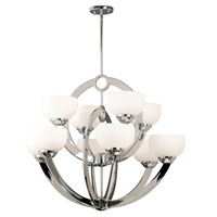 Kenroy Lighting Nova 10 Light Chandelier in Chrome   91555CH