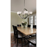 Kenroy Lighting Nova 6 Light Chandelier in Chrome   91556CH
