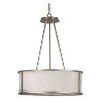 Whistler 3 Light 21 inch Bronze Gilt Pendant Ceiling Light