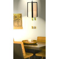 Kenroy Lighting Teton 1 Light Pendant in Madera Bronze 91592MBR
