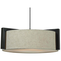 Kenroy Lighting Teton 3 Light Pendant in Madera Bronze 91593MBR