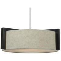 Kenroy Lighting 91593MBR Teton 3 Light 24 inch Madera Bronze Pendant Ceiling Light