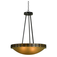 Kenroy Lighting Pane 5 Light Pendant in Forged Graphite 91596FGRPH