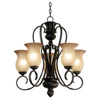 Kenroy Lighting Ponte Vedra 5 Light Chandelier in Oil Rubbed Bronze   91665ORB photo thumbnail