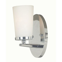 Kenroy Lighting Aerial 1 Light Sconce in Polished Nickel   91681PN