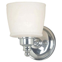 Kenroy Lighting 91701CH Riley 1 Light 6 inch Chrome Sconce Wall Light
