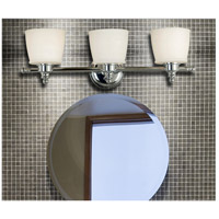 Kenroy Lighting 91703CH Riley 3 Light 24 inch Chrome Vanity Wall Light alternative photo thumbnail