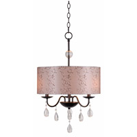 Kenroy Lighting Arpeggio 3 Light Pendant in Oil Rubbed Bronze 91733ORB