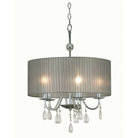 Arpeggio 5 Light 20 inch Chrome Pendant Ceiling Light