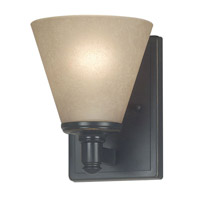 Kenroy Lighting Tallow 1 Light Sconce in Bronze Patina   91751BP