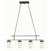 Toronto 4 Light 36 inch Satin Bronze Island Light Ceiling Light