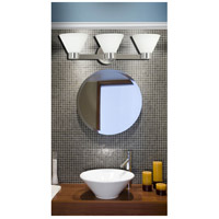 Kenroy Lighting 91793BS Maxwell 3 Light 25 inch Brushed Steel Vanity Wall Light alternative photo thumbnail