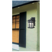 Kenroy Lighting 91901BL Carrington 1 Light 14 inch Black Wall Lantern alternative photo thumbnail
