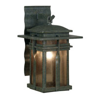 Kenroy Lighting Carrington 1 Light Outdoor Lantern in Rust   91902RST
