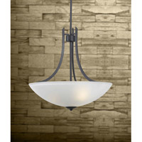Kenroy Lighting Mirage 3 Light Pendant in Forged Graphite   91923FGRPH photo thumbnail